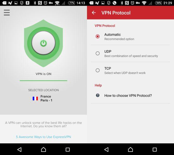 revisão android expressvpn