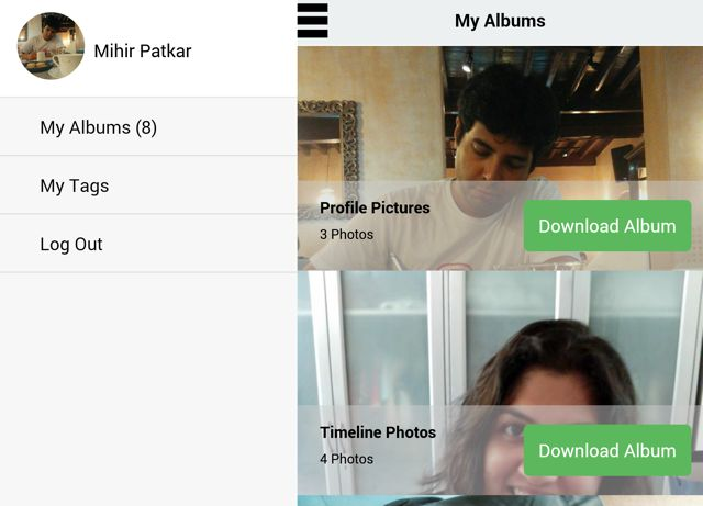 Facebook-Fotos-Videos-Album-Downloader