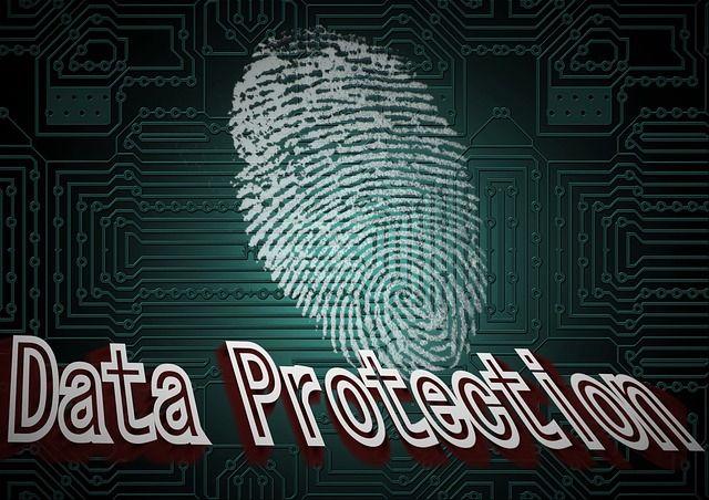 dados de segurança de impressão digital