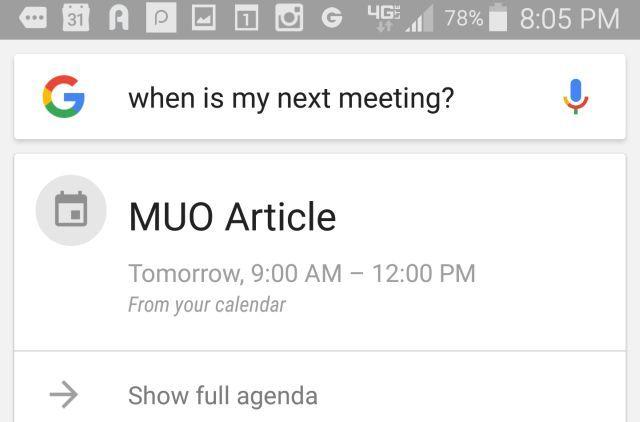 google-agora-ver-agenda