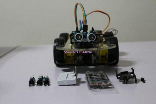 4WD-Arduino-robô