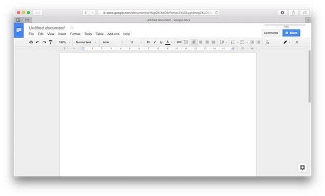 mac docs alternativas escritório do Google