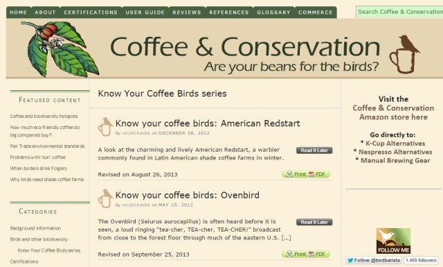 café-conservação