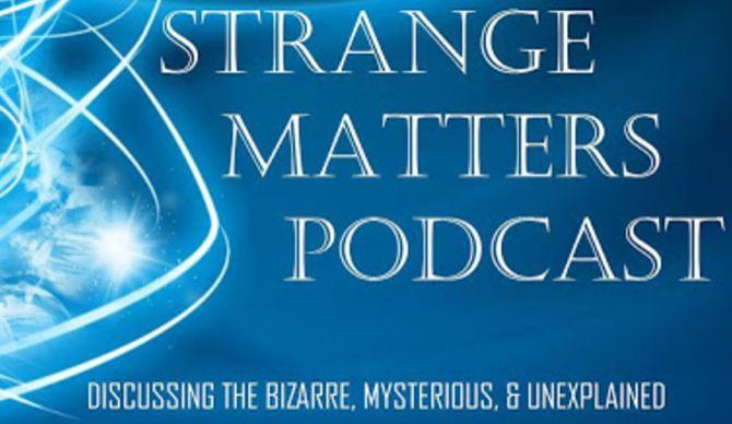 matérias estranhas de podcast