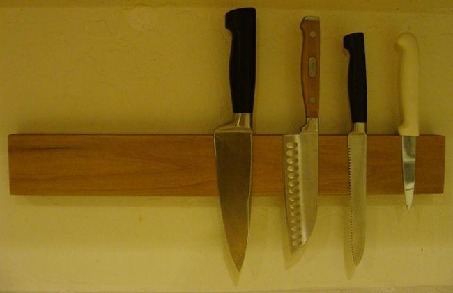 disco rígido bloco de faca diy
