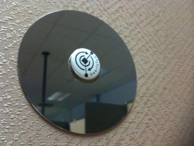 discos rígidos espelho cubículo