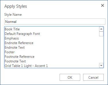 Escritório Styles online e Formatação