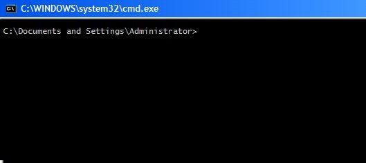 orientar os comandos do Windows