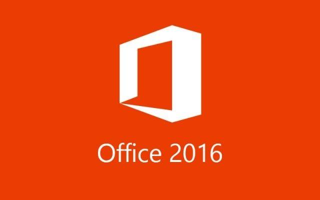 Escritório 2016 do logotipo