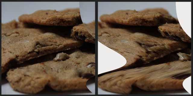 Photoshop filtros-distorça-cisalhamento