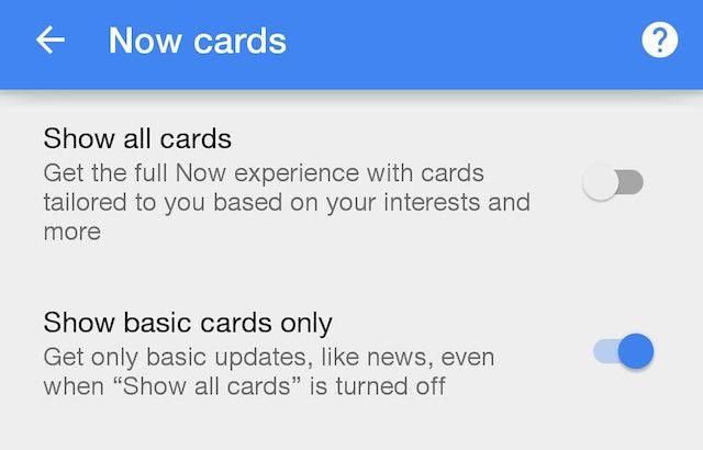 Google-Configurações-Google-Now-Cards