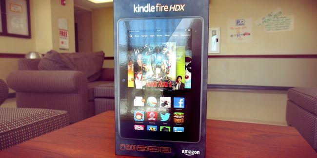 Amazon revisão hdx kindle fogo e doação