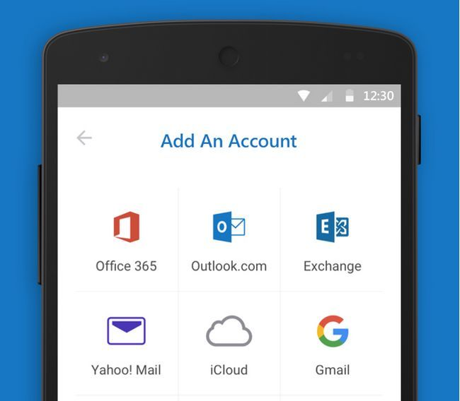 bateria android Microsoft Outlook