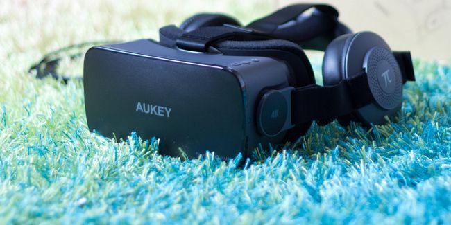 Córtex aukey 4k vr revisão fone de ouvido e doação