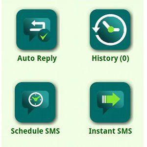 Automatizar respostas sms e mensagens de agendamento com auto sms [android 2.1 +]