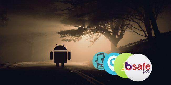 Melhores aplicativos para mantê-lo seguro quando anda sozinho