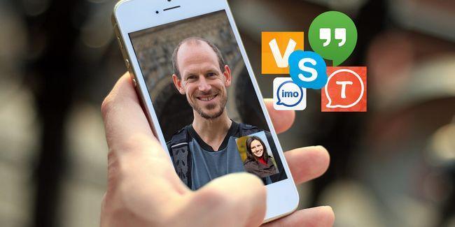 Melhores aplicativos de smartphones para chamadas de vídeo de plataforma cruzada livre