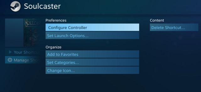 configurar controlador de vapor
