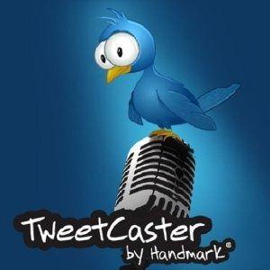 Transmitido tweets de seu telefone android com tweetcaster