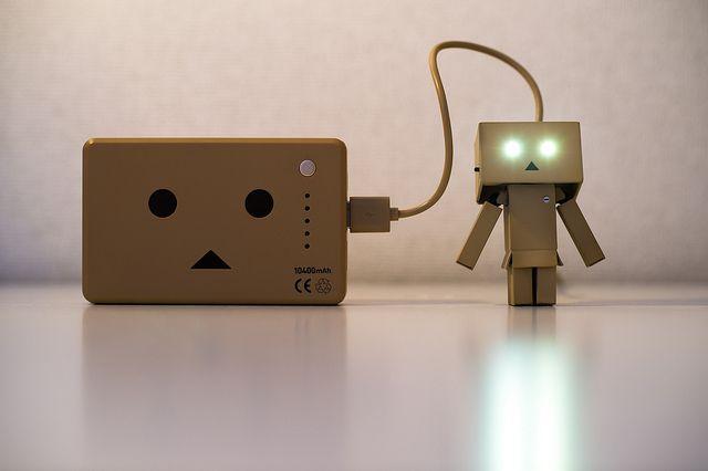 Smartphone-carregamento da bateria