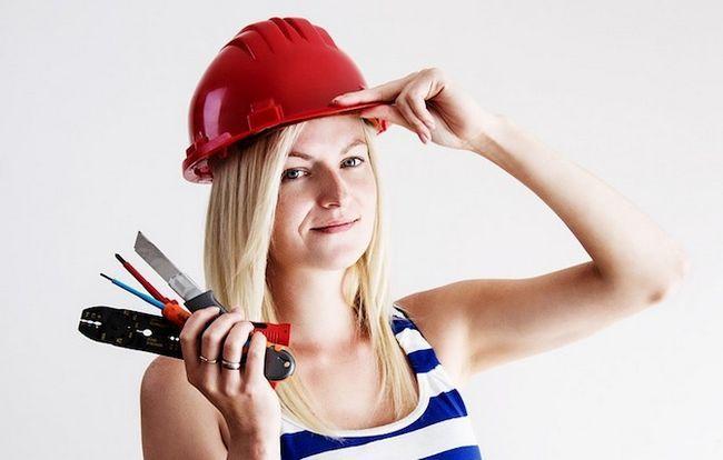 reparo diy substituir ferramentas mulher de correção
