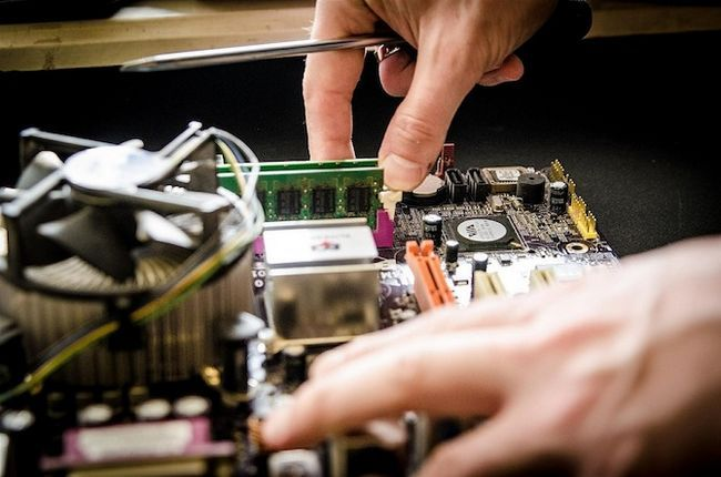 reparo diy substituir motherboard