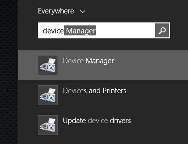 verifique o Windows Device Manager