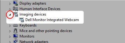 dispositivos de imagem Windows Device Manager