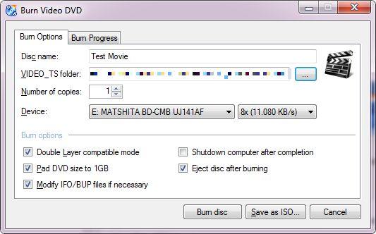 software de gravação de CD