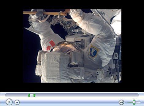 NASA TV clara