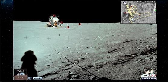 NASA - andar na lua
