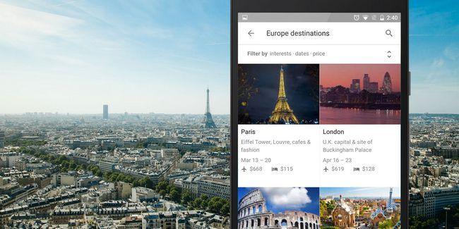 Será que o google fazer o melhor planejador de férias para o android?