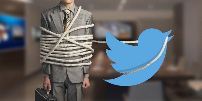 Será que você se ferrar por uma empresa? Leve-o ao twitter!
