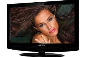 Uma TV LCD Apex