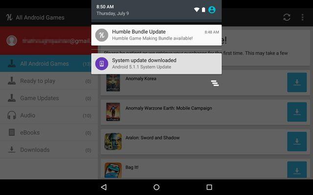 AndroidGooglePlay-Humble Bundle-de atualização