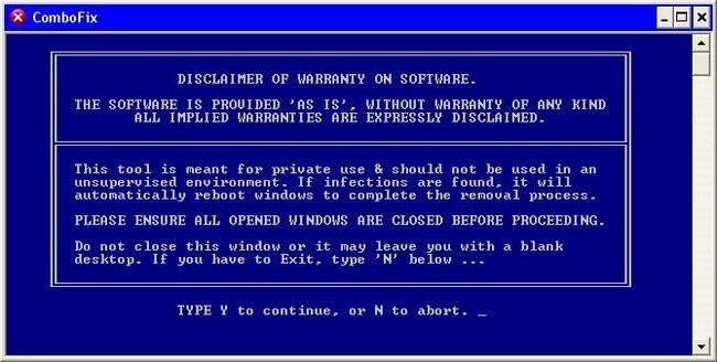 combofix de malware