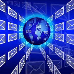 e-mail de linha de comando Blat