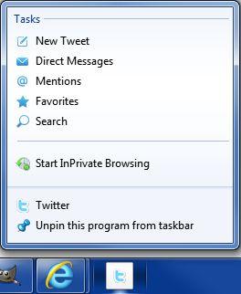 nova versão do Internet Explorer