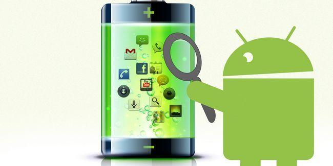 Descobrir quais aplicativos estão matando sua bateria android