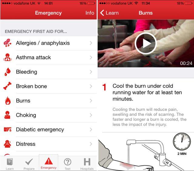 red-cross-primeiros-socorros app