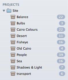 organizar fotos no Mac