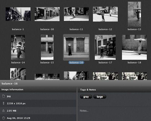 melhor maneira de organizar fotos em mac