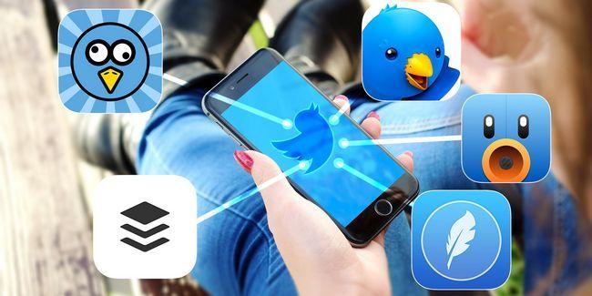 Esqueça iphone app oficial do twitter, usá-los em vez