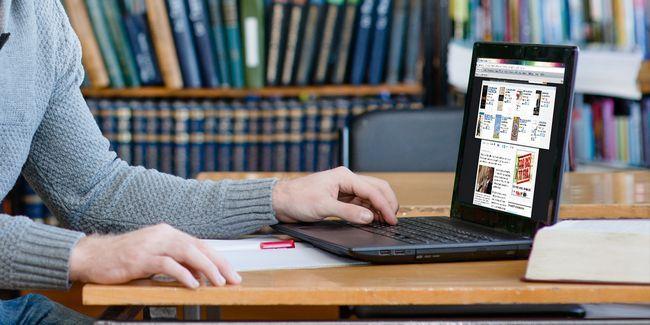 Obter produtiva agora com o melhor navegador back-to-escola set-up