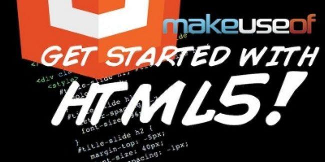 Comece a trabalhar com html5