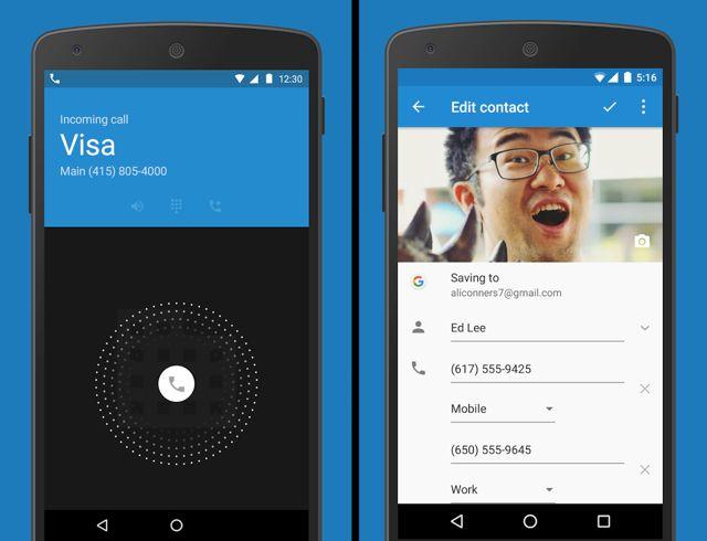 Da-Android-sem-Raiz Google-Dialer-Contacts
