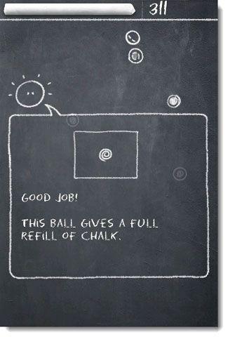 Volte para o quadro negro e jogar o jogo de salto durante todo o dia com bola de giz lite