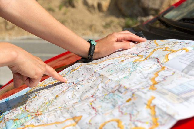 leitura de mapa