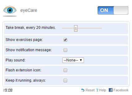 A regra 20-20-20 com EyeCare