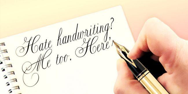 Odeio caligrafia? Eu também. Aqui está o porquê devemos ensiná-la de qualquer maneira.